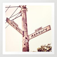 Haight Ashbury Art Print