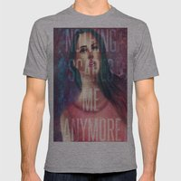 Nothing Scares Me Anymore Mens Fitted Tee Athletic Grey SMALL
