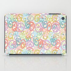 Colored pattern iPad Case