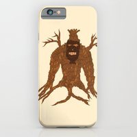 iPhone & iPod Case featuring Tree Stitch Monster by Dambar Thapa