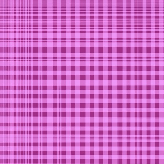 Purple Checkers. Canvas Print