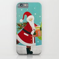 Santa And Presents iPhone 6 Slim Case