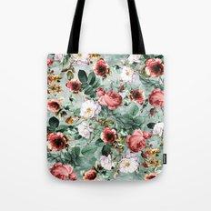 Rpe Seamless Floral Pattern I Tote Bag
