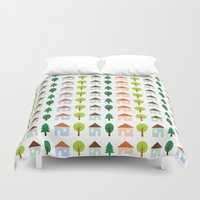 The Essential Patterns of Childhood - Home Duvet Cover