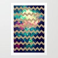 Glitter Space 4 - For Ip… Art Print