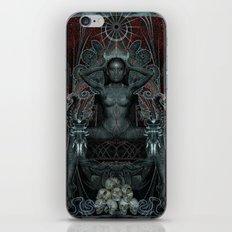 Triptych: Shakti - Black… iPhone & iPod Skin
