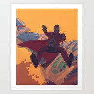 Hooked On A Feeling Art Print