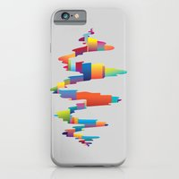 iPhone & iPod Case featuring After the earthquake by Joe Van Wetering