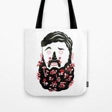 Mushroom Beard Dude Tote Bag