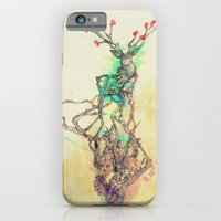 iPhone & iPod Case featuring Woodland Spirit by ChrisRIllustrations