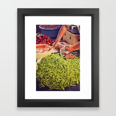 Nopalitos Framed Art Print