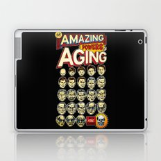 The Amazing Powers of Aging! Laptop & iPad Skin