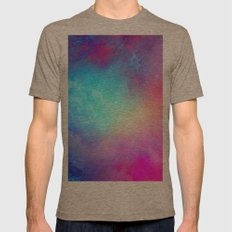 Fire N Ice Mens Fitted Tee Tri-Coffee SMALL