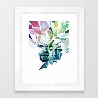 Blue Sky Thinking (Break… Framed Art Print