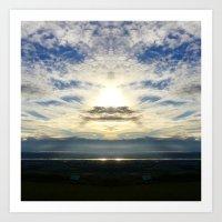 Heavens Above! Art Print