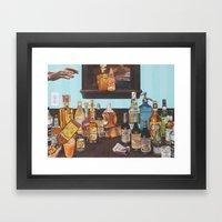 Spirits Framed Art Print