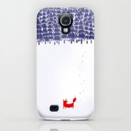 Alone In The Forest Galaxy S4 Slim Case