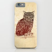 iPhone & iPod Case featuring Most Ornate Owl by Rachel Caldwell