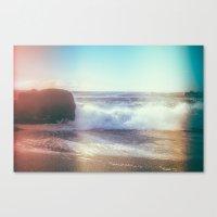 California Ocean Dreaming Canvas Print