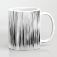 Trees | Black And White Mug