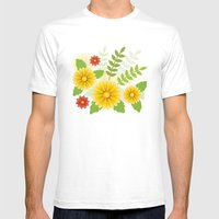 Spring Is Coming Mens Fitted Tee White SMALL