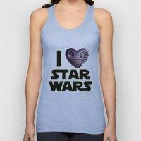 Love Star Wars  Unisex Tank Top