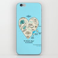 A Map Of The Introvert's… iPhone & iPod Skin