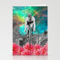 THE CYCLIST V Stationery Cards