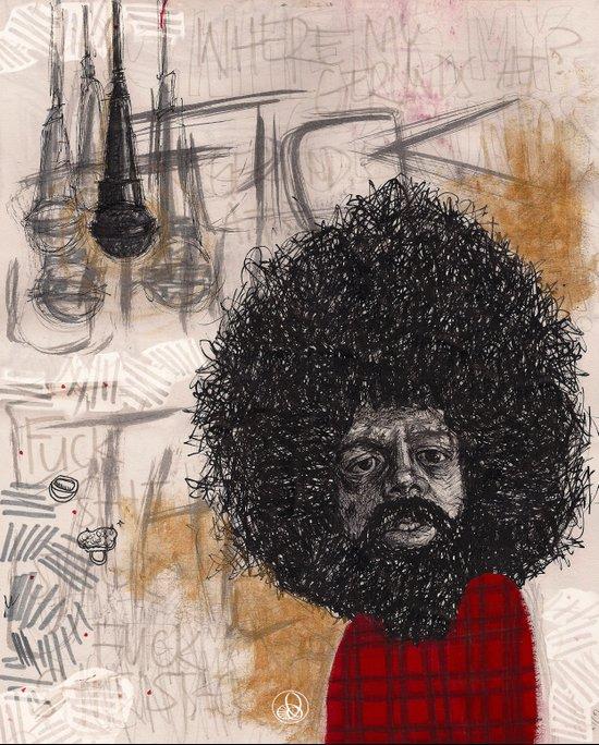 Reggie Art Print