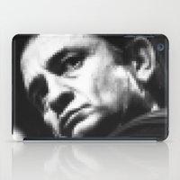 8-bit Johnny Cash iPad Case