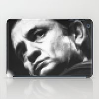 8-bit Johnny Cash iPad Case