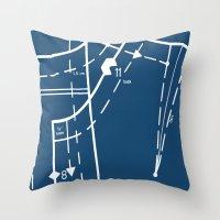 Pattern Master Navy Throw Pillow