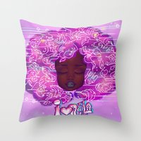 Muthaboard Throw Pillow