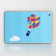 Up And Away - Doctor Who Laptop & iPad Skin