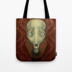 Shocked Alien Tote Bag
