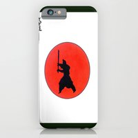 iPhone & iPod Case featuring Japanese Bushido Way Of The Warrior by  Gordon Lavender