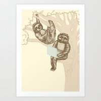 Evolution Art Print