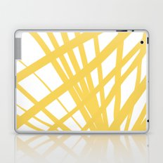 Dandelion in Yellow by Friztin Laptop & iPad Skin