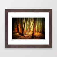 Morgenstimmung Framed Art Print