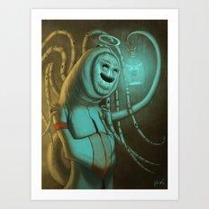 The Entomologist Art Print
