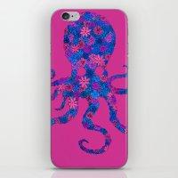 Octo Bloom iPhone & iPod Skin