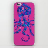 Octo Bloom iPhone & iPod Skin