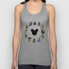 Time To Be A Princess (A… Unisex Tank Top