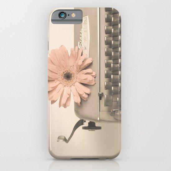 Soft Typewriter (Retro and Vintage Still Life Photography) iPhone & iPod Case