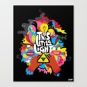 'This Little Light' Giclee Print Canvas Print