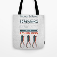 The Third Kind Tote Bag