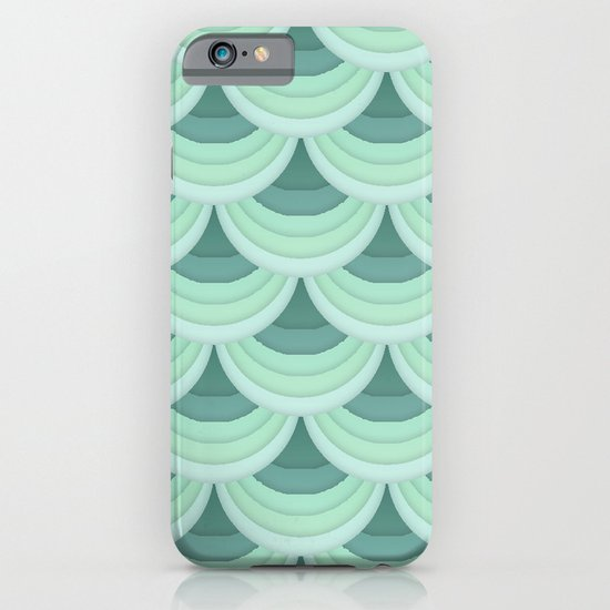 Ocean Fan Tail. iPhone & iPod Case