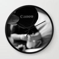 Headshot Wall Clock