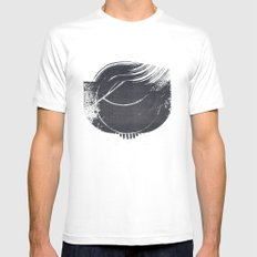 Ground Mens Fitted Tee SMALL White