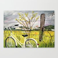 To the Secret Forest Canvas Print
